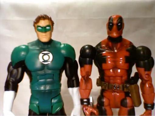 Deadpool vs. Green Lantern